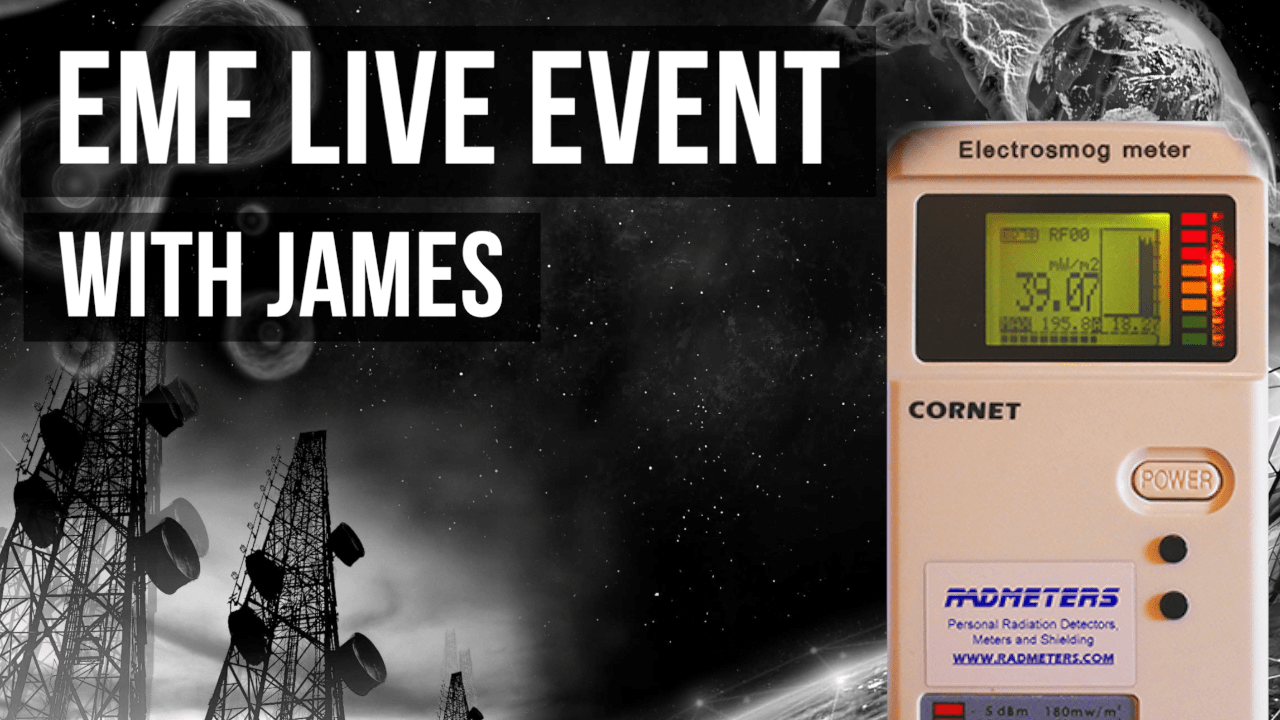 EMF Live Event with James the EMF Guy